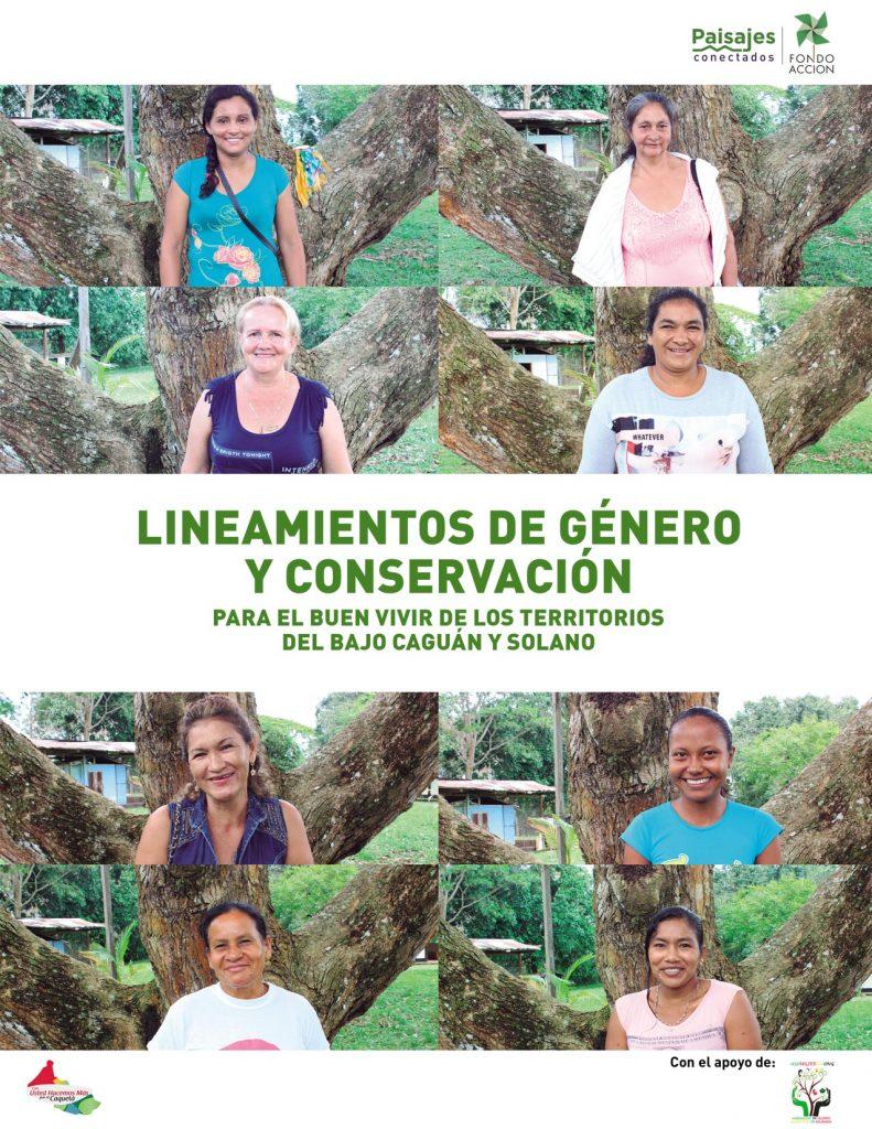 Lineamiento de Género y Conservación