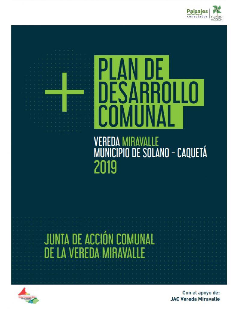 PDC Propuestas de Desarrollo Comunal